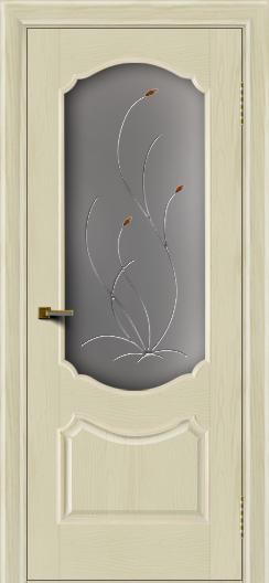 Двери ЛайнДор Богема тон 34 стекло Ковыль