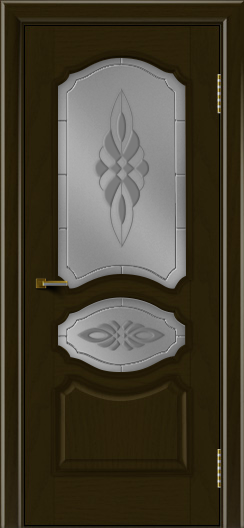 Двери ЛайнДор Богема тон 35 стекло Византия