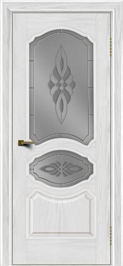 Двери ЛайнДор Богема тон 38 стекло Византия