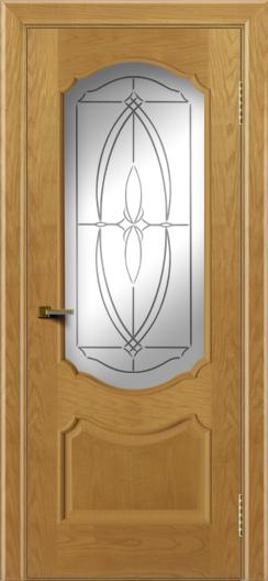 Двери ЛайнДор Богема ясень тон 24 стекло Белое