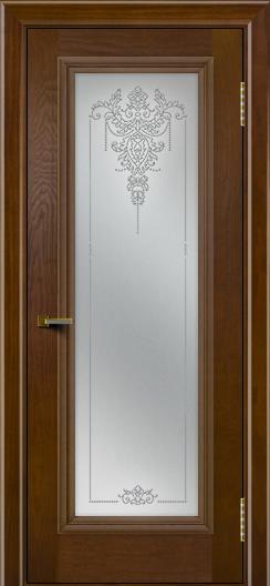 Двери ЛайнДор Валенсия тон 30 стекло Версаль