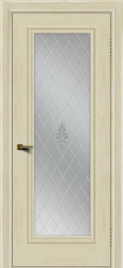 Двери ЛайнДор Валенсия тон 34 стекло Лилия
