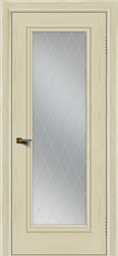 Двери ЛайнДор Валенсия тон 34 стекло Лондон
