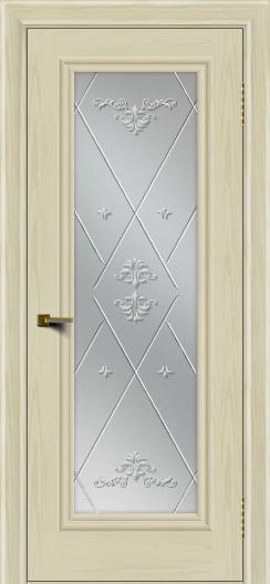 Двери ЛайнДор Валенсия тон 34 стекло Прима