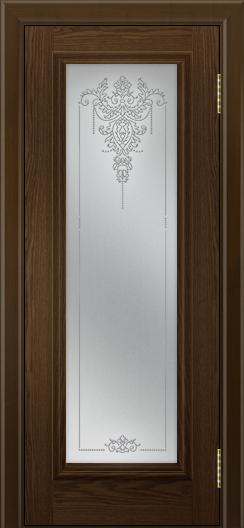 Двери ЛайнДор Валенсия тон 35 стекло Версаль