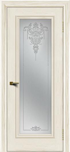 Двери ЛайнДор Валенсия тон 36 стекло Версаль
