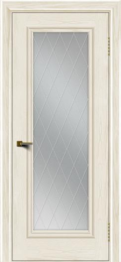 Двери ЛайнДор Валенсия тон 36 стекло Лондон