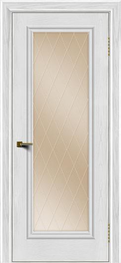 Двери ЛайнДор Валенсия тон 38 стекло Лондон бронза