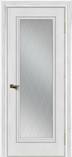 Двери ЛайнДор Валенсия тон 38 стекло Лондон
