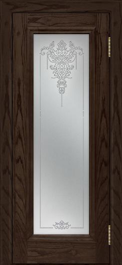 Двери ЛайнДор Валенсия тон 39 стекло Версаль