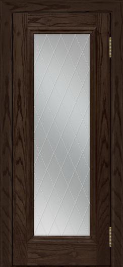 Двери ЛайнДор Валенсия тон 39 стекло Лондон