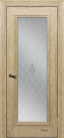 Двери ЛайнДор Валенсия тон 40 стекло Лилия