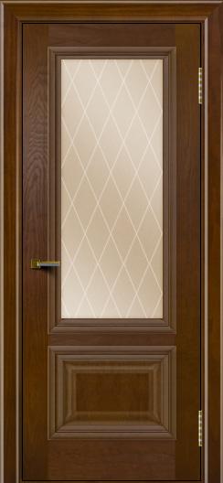 Двери ЛайнДор Виолетта тон 30 стекло Лондон бронза