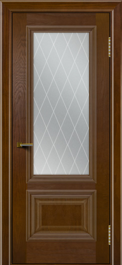 Двери ЛайнДор Виолетта тон 30 стекло Лондон