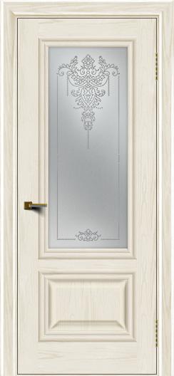 Двери ЛайнДор Виолетта тон 36 стекло Версаль