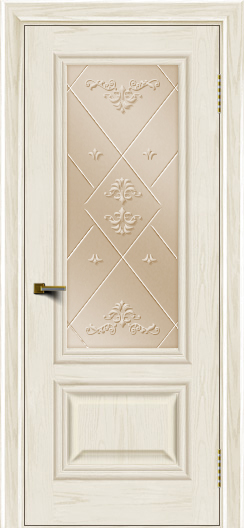 Двери ЛайнДор Виолетта тон 36 стекло Прима бронза