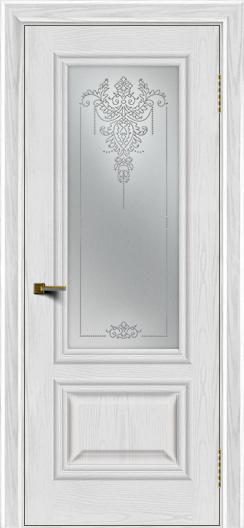 Двери ЛайнДор Виолетта тон 38 стекло Версаль