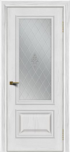 Двери ЛайнДор Виолетта тон 38 стекло Лилия