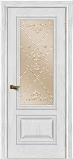 Двери ЛайнДор Виолетта тон 38 стекло Прима бронза