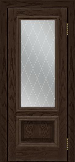Двери ЛайнДор Виолетта тон 39 стекло Лондон