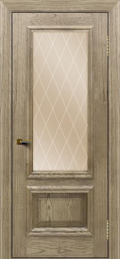 Двери ЛайнДор Виолетта тон 41 стекло Лондон бронза