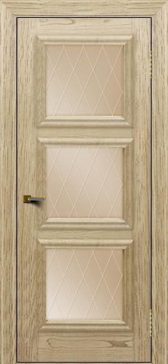 Двери ЛайнДор Грация тон 40 стекло Лондон бронза
