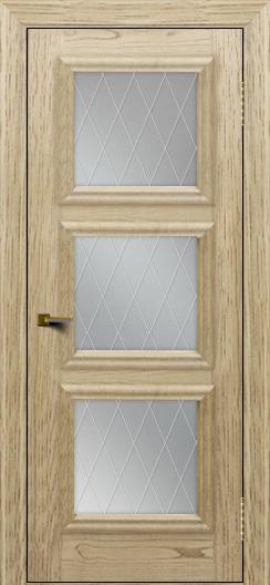 Двери ЛайнДор Грация тон 40 стекло Лондон