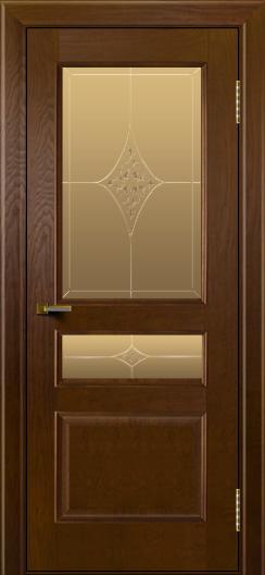 Двери ЛайнДор Калина тон 30 стекло Гелиос