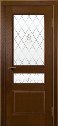 Двери ЛайнДор Калина тон 30 стекло Лилия