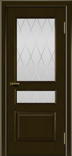 Двери ЛайнДор Калина тон 35 стекло Лондон