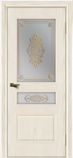 Двери ЛайнДор Калина тон 36 стекло Дамаск
