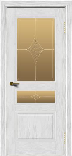 Двери ЛайнДор Калина тон 38 стекло Гелиос