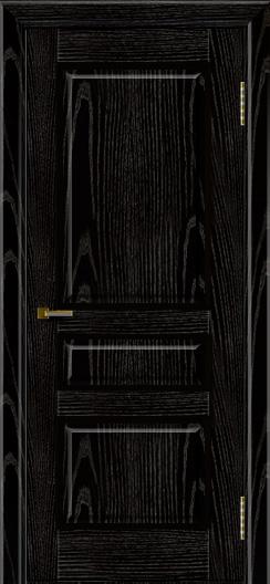 Двери ЛайнДор Калина черная эмаль тон 26 глухая