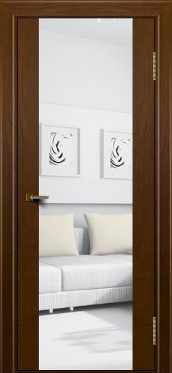 Двери ЛайнДор Камелия К тон 30 стекло Зеркало