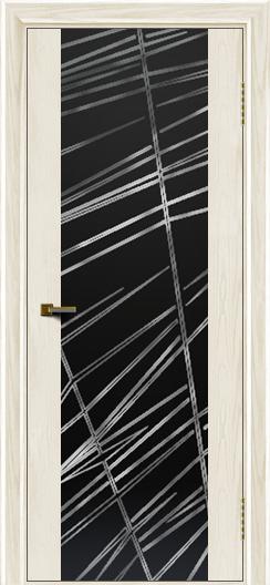 Двери ЛайнДор Камелия К тон 36 стекло Графит