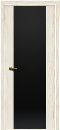 Двери ЛайнДор Камелия К тон 36 стекло Черное