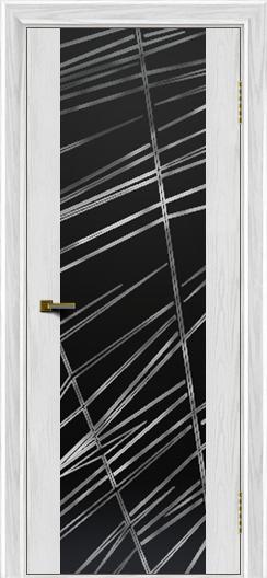 Двери ЛайнДор Камелия К тон 38 стекло Графит