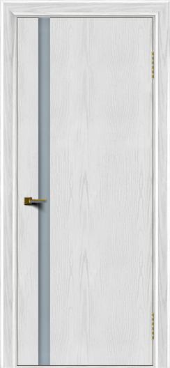 Двери ЛайнДор Камелия К1 тон 38 стекло Белое