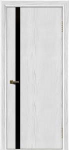 Двери ЛайнДор Камелия К1 тон 38 стекло Черное
