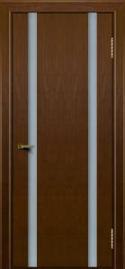 Двери ЛайнДор Камелия К2 тон 30 стекло Белое