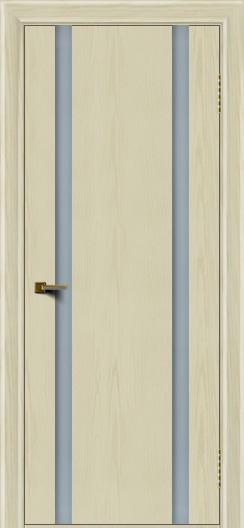 Двери ЛайнДор Камелия К2 тон 34 стекло Белое