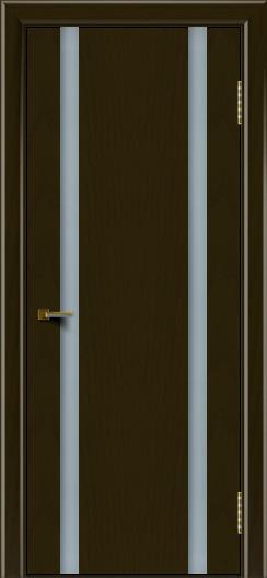 Двери ЛайнДор Камелия К2 тон 35 стекло Белое