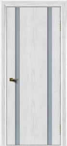 Двери ЛайнДор Камелия К2 тон 38 стекло Белое