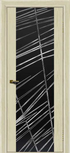 Двери ЛайнДор Камелия тон 34 стекло Графит