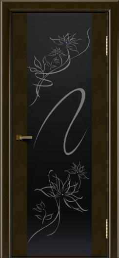 Двери ЛайнДор Камелия тон 35 стекло Камелия