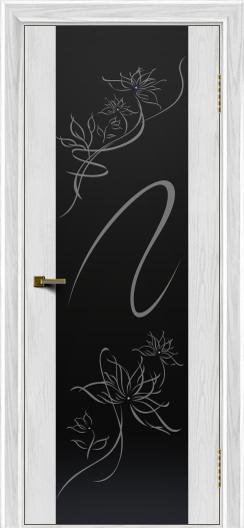 Двери ЛайнДор Камелия тон 38 стекло Камелия