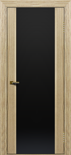 Двери ЛайнДор Камелия тон 40 стекло Черное