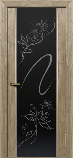 Двери ЛайнДор Камелия тон 41 стекло Камелия