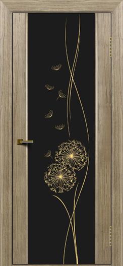 Двери ЛайнДор Камелия тон 41 стекло Одуванчик