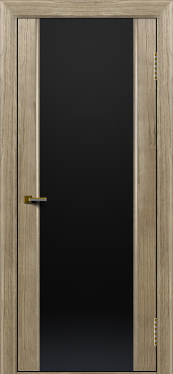 Двери ЛайнДор Камелия тон 41 стекло Черное
